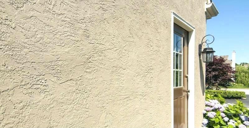mur en stucco