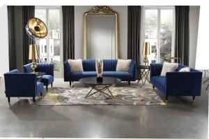 salon bleu royal