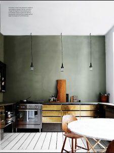 cuisine vert olive or