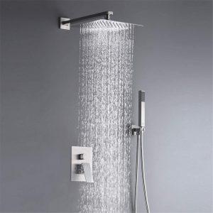 salle de bain douche cascade