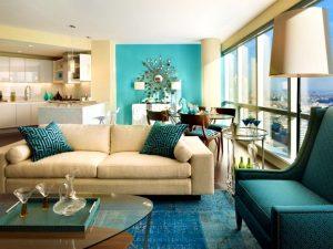 salon turquoise